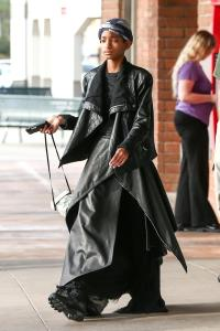 "*EXCLUSIVE* Willow Smith goes ""Matrix"" style"