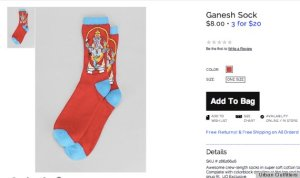 Ganesha Socks